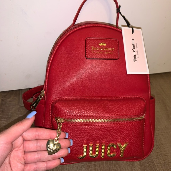 Juicy Couture Handbags - Juicy Couture Red purse